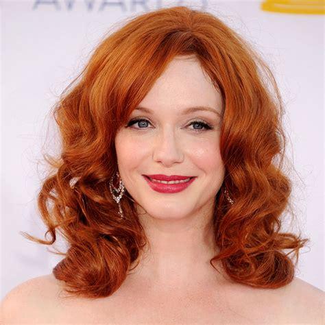 celebrity hairstyles christina hendricks hair 15
