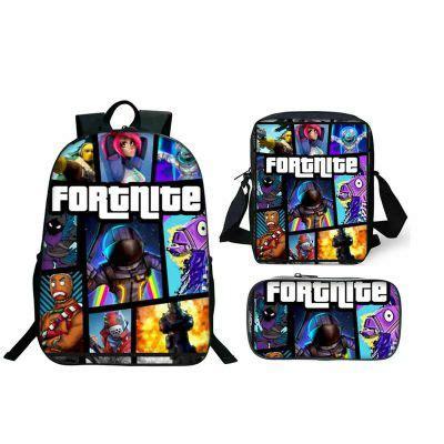 fortnite backpacklunch boxshoulder bagpencil case super