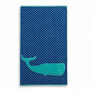 Whale Jacquard Beach Towel - Bed Bath & Beyond
