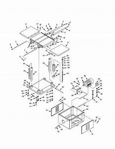 Craftsman 351217040 Planer Parts