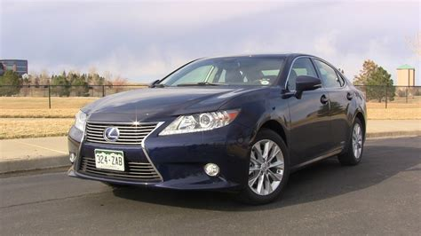 Review 2013 Lexus Es 300h  To Hybrid Or Not To Hybrid