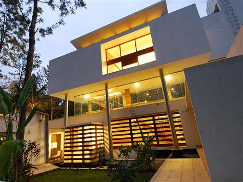 architecture house design modern open concept house in bangalore idesignarch
