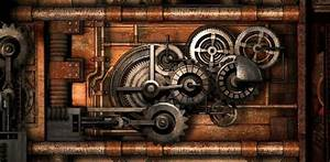 Steampunk Gears Wallpaper - WallpaperSafari