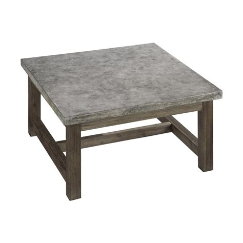 coffee and l tables shop home styles concrete chic 36 in w x 36 in l square