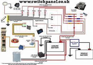12v   240v Camper Wiring Diagram