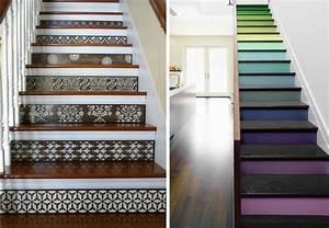 Deco Marche Escalier : 20 id es d co pour relooker votre escalier bnbstaging le blog ~ Teatrodelosmanantiales.com Idées de Décoration
