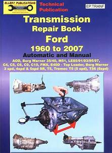 Ford Transmission Automatic Manual Service Repair Book