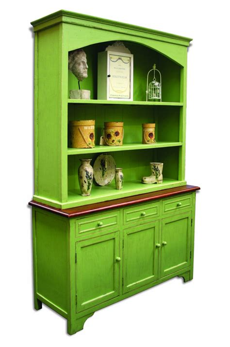 Bordeaux Green Painted Pine And Elm Furniture Large