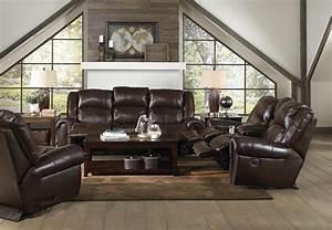 Jordan tobacco reclining living room set from catnapper for Jordan s furniture living room