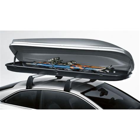 coffre de toit pour skis et bagages 480 l pour barres de toit 50 kg max boutique audera