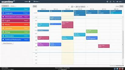 Timetable Study Revision Schedule Weekly Create Maker
