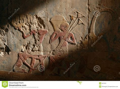 egyptian relief stock image image