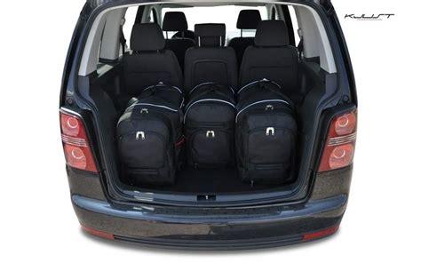 dachträger vw touran kjust vw touran 2003 2010 kofferraumtaschen set 4 stk autotaschen sets vw touran i 2003