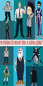 10, Underrated, Quirks, From, My, Hero, Academia, Mha, In, 2020