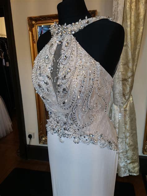 Illusion Prom Eden Ivory   Ee  Sale Ee   Dressy Dresses