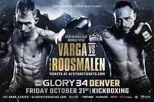 GLORY 34: Gabriel Varga vs Robin van Roosmalen set for ...