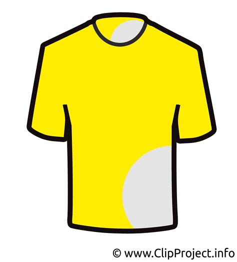 gelbe trikot clipart bild
