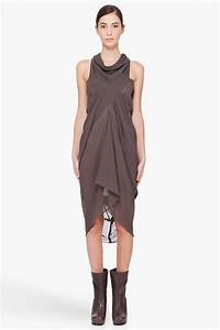 summer spring wear sexy draped dresses for women With drapes clothes