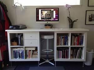 Schreibtisch Expedit Ikea : 25 ikea kallax or expedit shelf hacks hative ~ Markanthonyermac.com Haus und Dekorationen