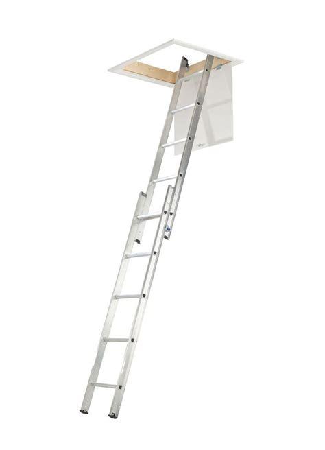 abru  section  tread sliding loft ladder departments