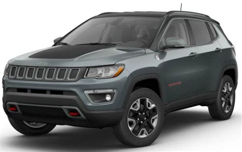 rhino jeep compass 2017 jeep compass trailhawk color options