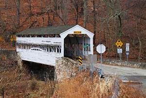 Valley Forge Covered Bridge, a photo from Pennsylvania ...