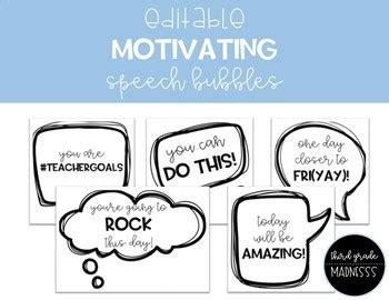 editable motivating speech bubbles   grade madnesss