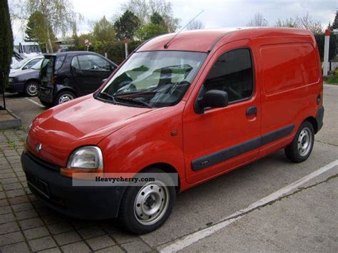 renault kangoo 2002 renault kangoo 2002 box type delivery van photo and specs