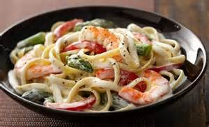 Pasta Primavera with Alfredo Sauce