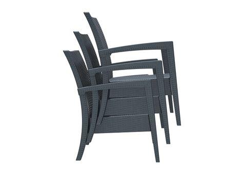 chaise de jardin resine tressee salon de jardin bas en