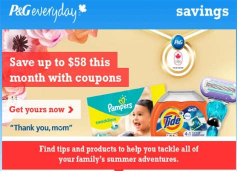 canadian daily deals pg brandsaver print  home