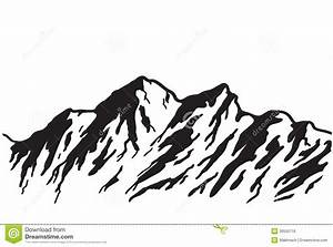 Mountain Outline Drawings Related Keywords & Suggestions ...