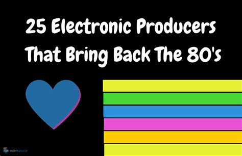 Listen to electronic 80's (ministry of sound) on spotify. Synthwave Artists: 25 Electronic Music Artists That Bring Back The 80's   Electronic music ...