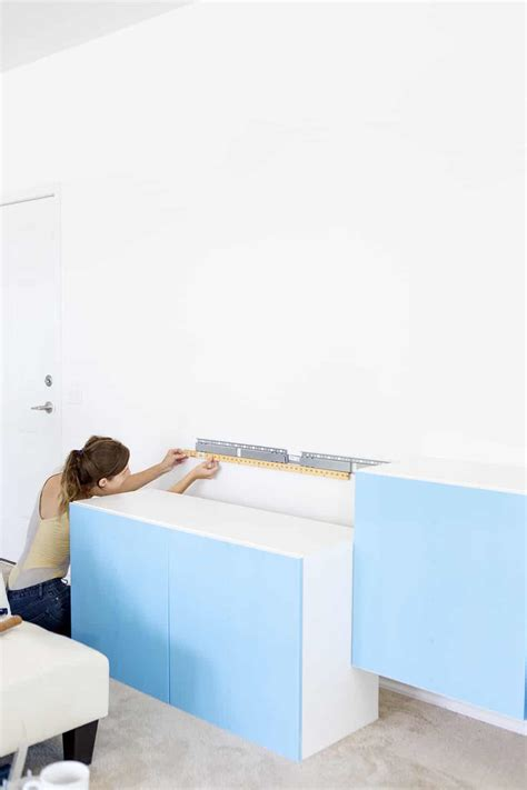 How To Hang Ikea Besta Cabinets how to install ikea besta cabinets a taste of koko