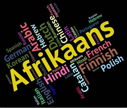 Afrikaans Language South Africa Dialect Means Clipart