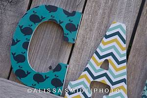custom nursery wooden letters baby boy or baby girl nursery With wooden letters for boy nursery