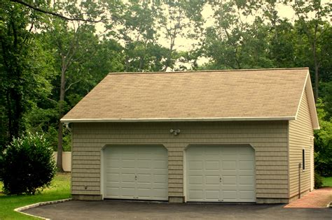 Garage : Buy A 2 Car Garage With Attic Space Direct From Garage