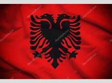 Albanien Flagge Hintergrund — Stockfoto © supparsorn #92454748
