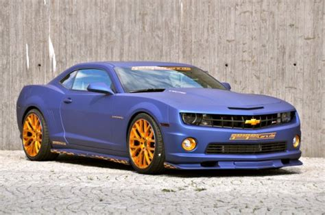 geigercars chevrolet camaro ss gold blue picture