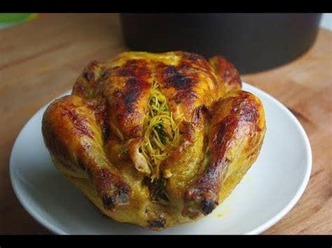 la cuisine marocain cuisine marocaine poulet farci et cuit au four stuffed