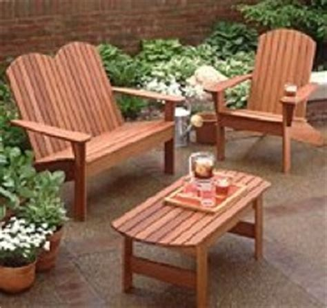 redwood furniture plans  woodworking