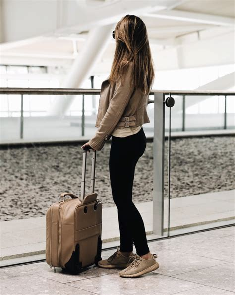 Travel Outfits Airport style How To Look Fashionable During Travel - Just The Design