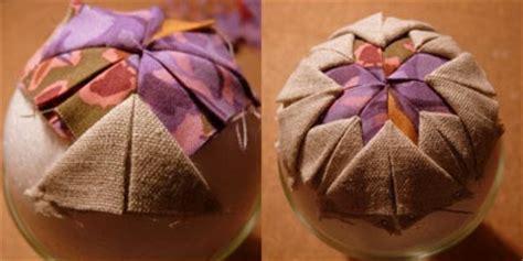 deco de noel en tissu blue primrose fabric ornament diy