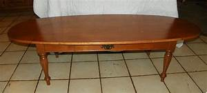 Light cherry ethan allen dropleaf coffee table bm for for Light cherry coffee table
