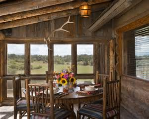 country style house plans with porches beautiful log cabin dining rooms