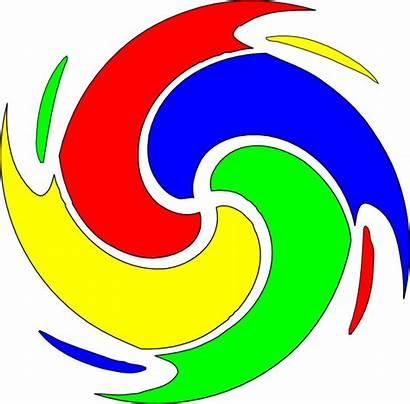 Clip Spiral Google Flower Cartoon Clipart Flowers