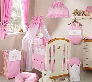 Deco Chambre Fille Bebe : decoration chambre pour bebe fille ~ Teatrodelosmanantiales.com Idées de Décoration