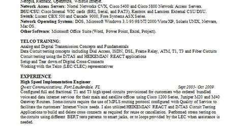 Computer Operator Resume Format Doc by Computer Operator Resume Format In Word Free