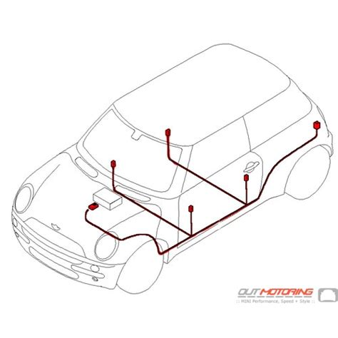 Mini Cooper Door Wiring Diagram by 61116926490 Mini Cooper Replacement Harman Kardon Audio