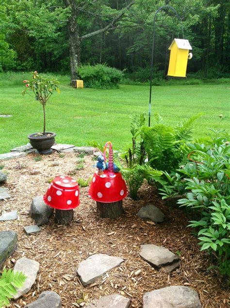 Pilze Für Garten Basteln by Gartendeko Basteln Den Garten Originell Dekorieren